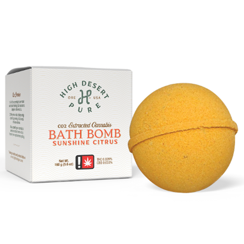 High Desert Pure -Citrus Bath Bomb